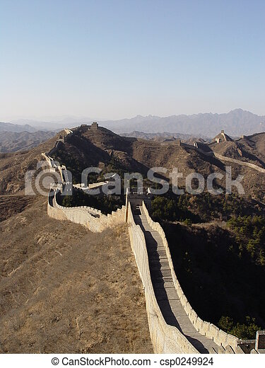 Great wall - csp0249924