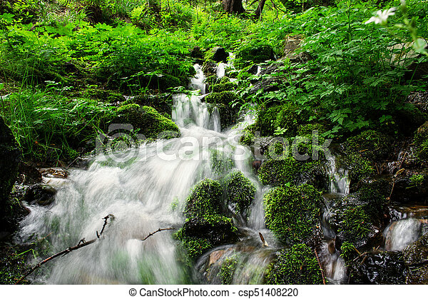great waterfall - csp51408220