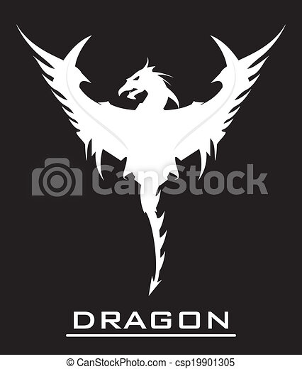 Great White Dragon Symbolizing The Power Strength Dignity Etc