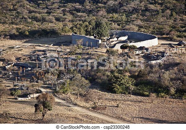Great Zimbabwe - csp23300248