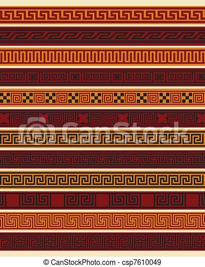 grec, frontières, ensemble, dix - csp7610049