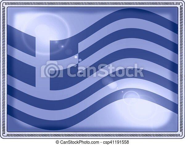 grecka bandera - csp41191558