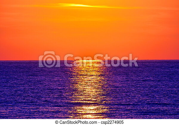 greece., kreta, sunset. - csp2274905