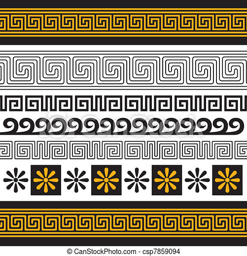 greece ornament - csp7859094