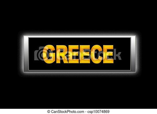 greece. - csp10074869