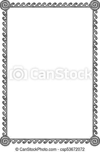 Free Greek Border, Download Free Clip Art, Free Clip Art on Clipart Library