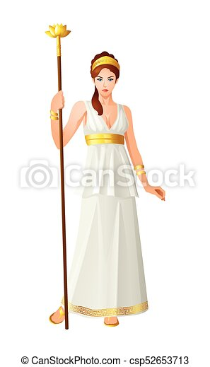 greek gods and goddess hera greek god and goddess vector vector rh canstockphoto com cartoon heartbeat cartoon headphones