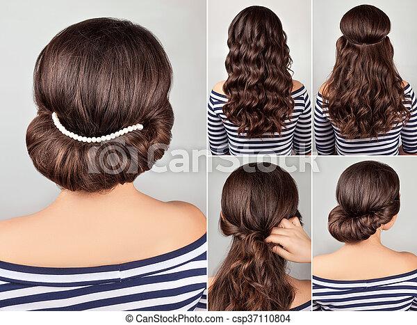 greek hairstyle tutorial