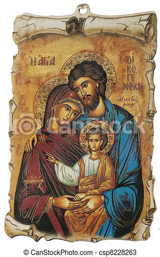 Greek Icon - csp8228263