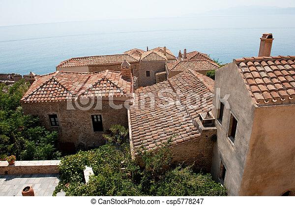 Greek Monemvasia - csp5778247