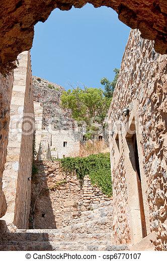 Greek Monemvasia - csp6770107