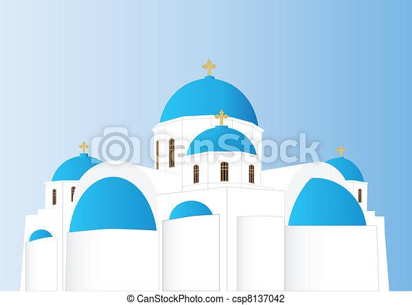 Greek Orthodox Church - csp8137042