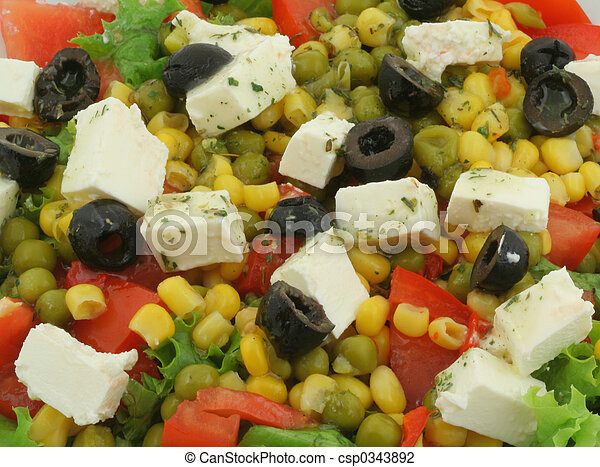 greek salad #2 - csp0343892