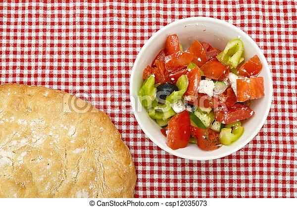 Greek salad - csp12035073
