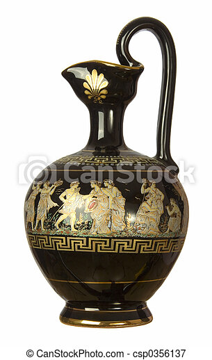 greek style jug - csp0356137