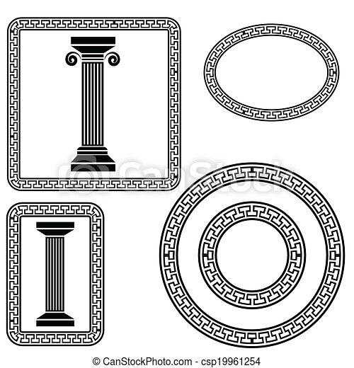 greek symbols - csp19961254
