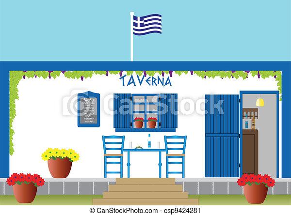 Greek Taverna - csp9424281