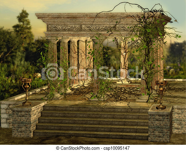 Greek Temple - csp10095147