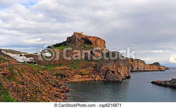 Greek Town - csp6216871