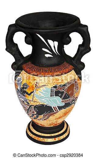 Greek Vase - csp2920384
