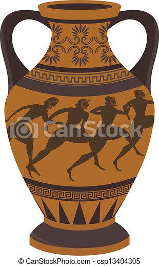 Ancient Greek Vase Vector For You Design