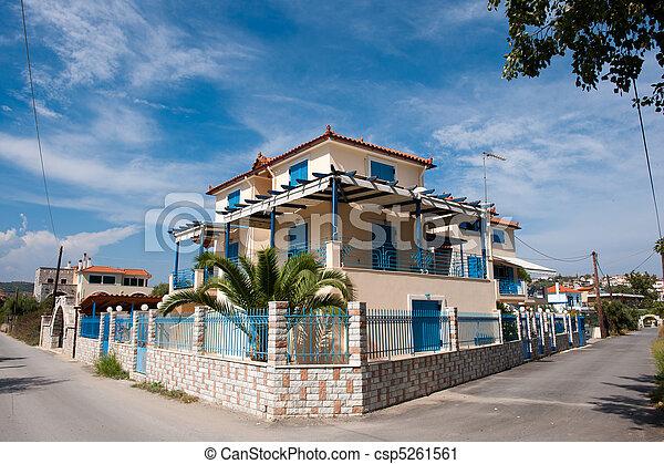 Greek village - csp5261561