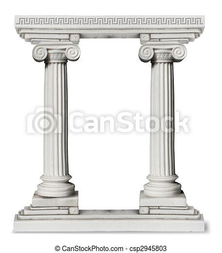 Greek_columns_border - csp2945803