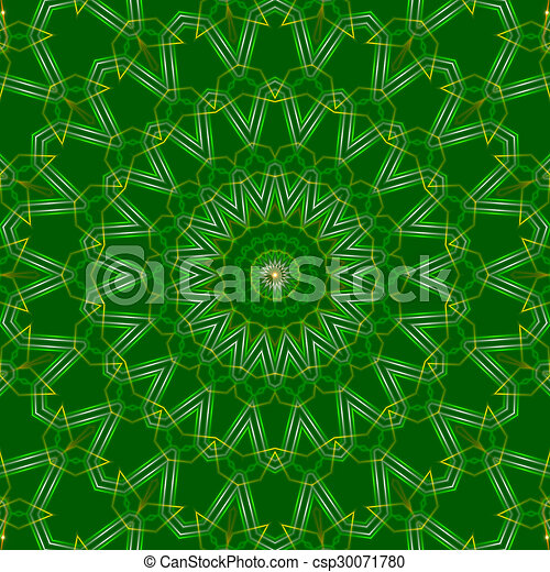 green abstract background, light - csp30071780