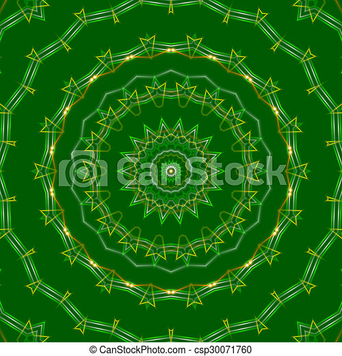 green abstract background, light - csp30071760