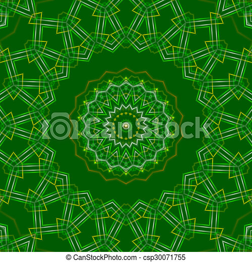 green abstract background, light - csp30071755