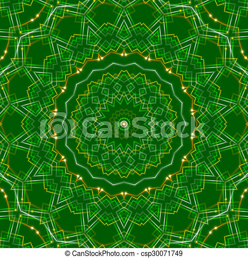 green abstract background, light - csp30071749