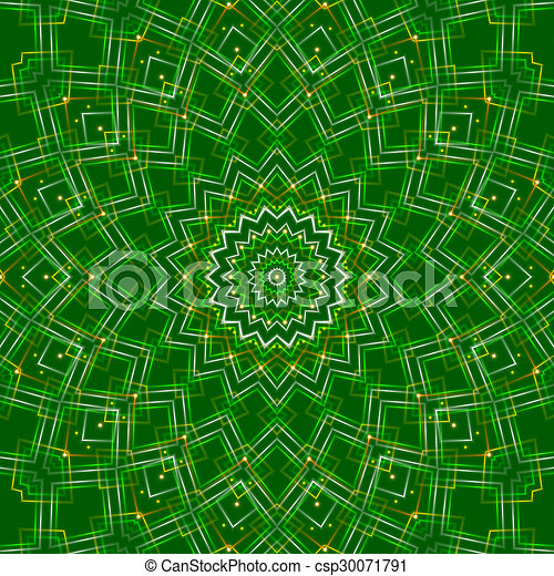 green abstract background, light - csp30071791