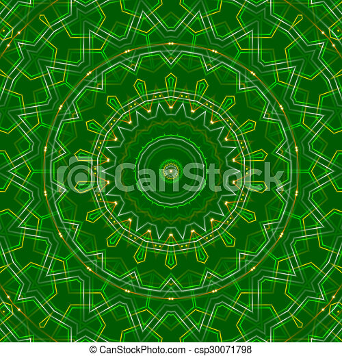 green abstract background, light - csp30071798