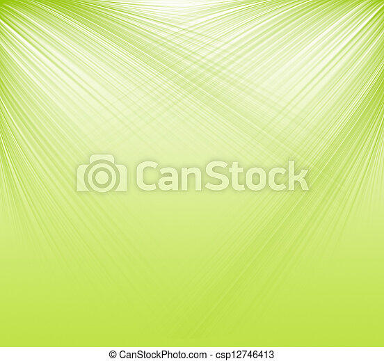 green abstract background - csp12746413