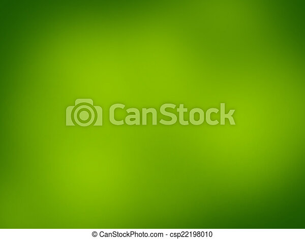 Green abstract light background - csp22198010