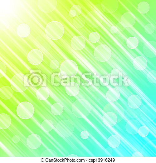 green abstract light background - csp13916249