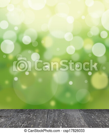 Green abstract light background - csp17826033