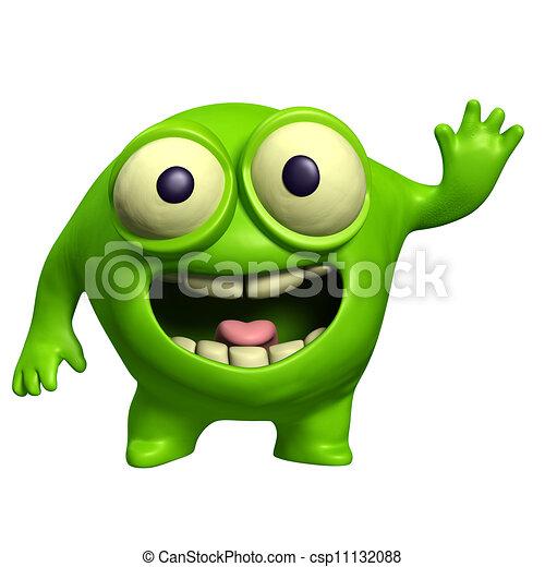 green alien - csp11132088
