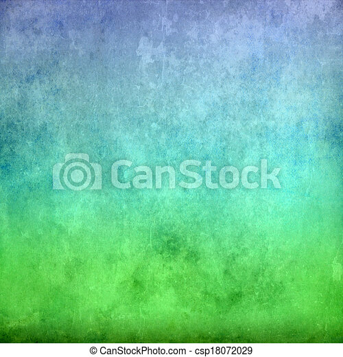 Green and blue vintage texture background - csp18072029