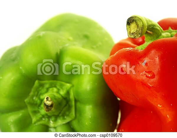 green and red pepper - csp0109570