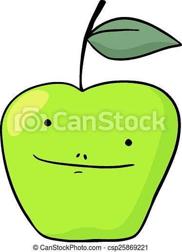 Green apple - csp25869221