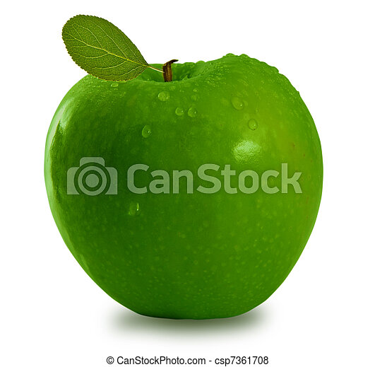 Green apple - csp7361708