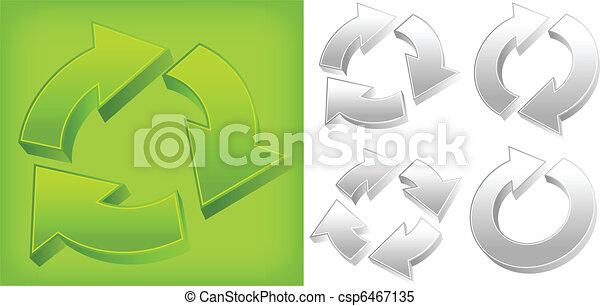 Green arrows - csp6467135