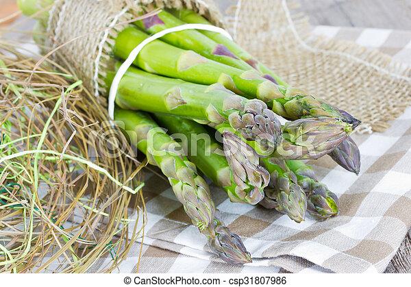 green asparagus - csp31807986