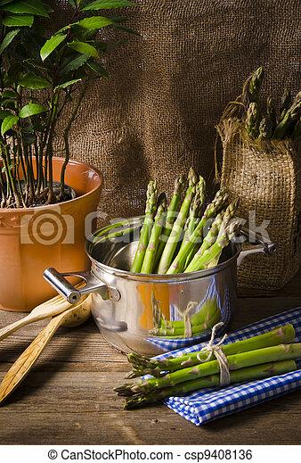 green Asparagus - csp9408136