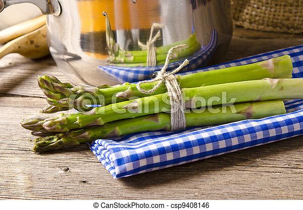 green Asparagus - csp9408146