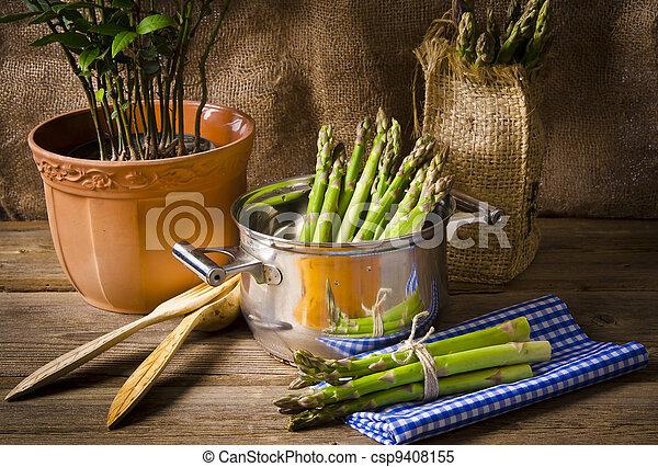 green Asparagus - csp9408155