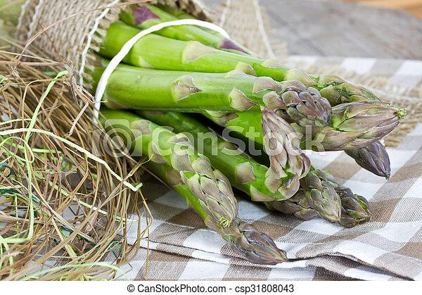 green asparagus - csp31808043