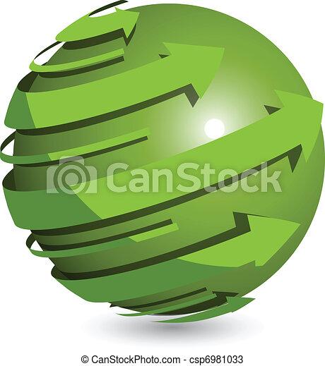 Green Ball - csp6981033