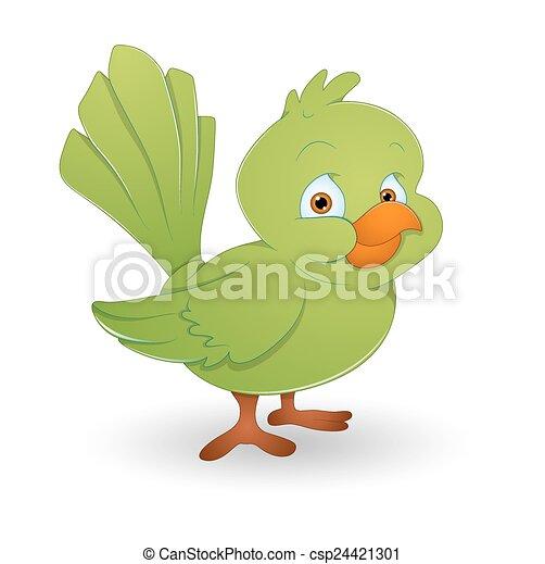 Green Bird - csp24421301